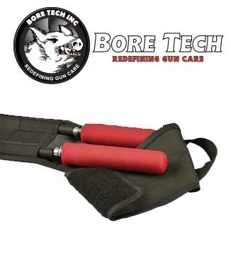 Funda de tela BoreTech para 2 baquetas