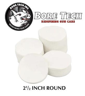 Parches de limpieza BoreTech circulares de 2 12''