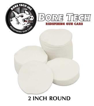 Parches de limpieza BoreTech circulares de 2''