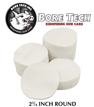 Parches de limpieza BoreTech circulares de 2 34''