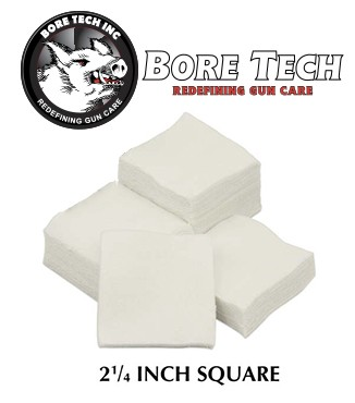 Parches de limpieza BoreTech cuadrados de 2 14''