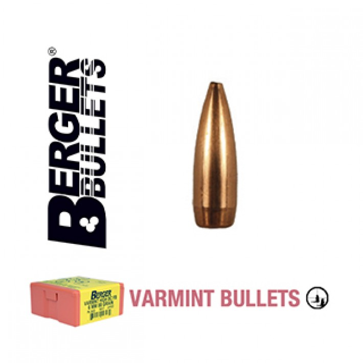 Puntas Berger BT Varmint calibre .204 - 40 grains