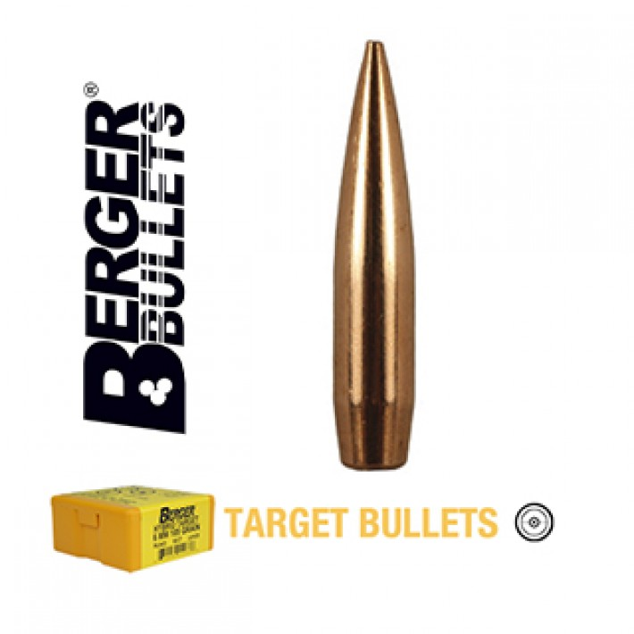 Puntas Berger Hybrid Target calibre .243 (6mm) - 105 grains