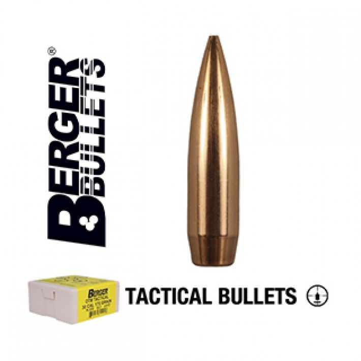 Puntas Berger Juggernaut OTM Tactical calibre .308 - 185 grains