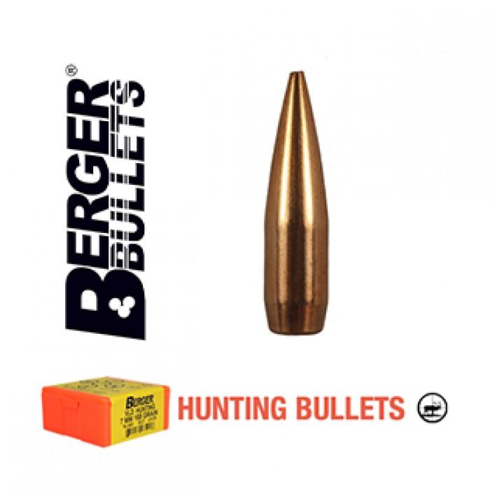 Puntas Berger VLD Hunting calibre .308 - 168 grains 500 unidades