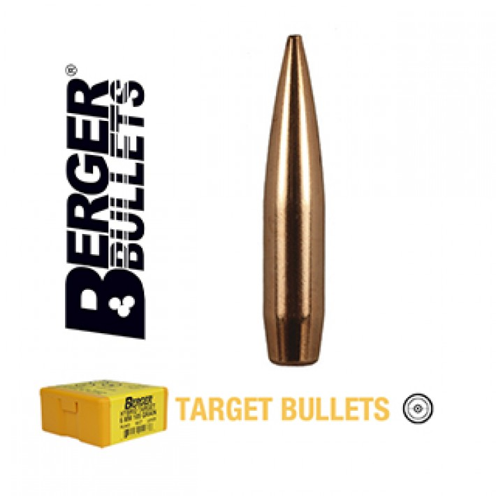 Puntas Berger Hybrid Target calibre .308 - 230 grains 250 unidades