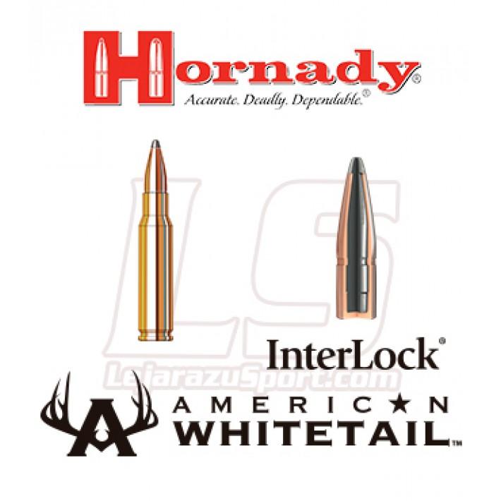 Cartuchos Hornady American Whitetail .308 Winchester 150 grains Interlock SP