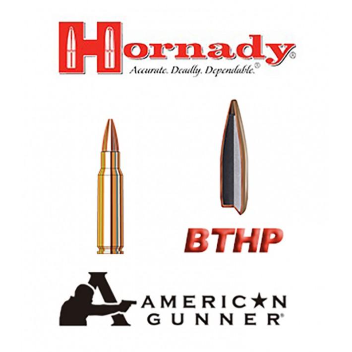 Cartuchos Hornady American Gunner 6.8 Remington SPC 110 grains BTHP