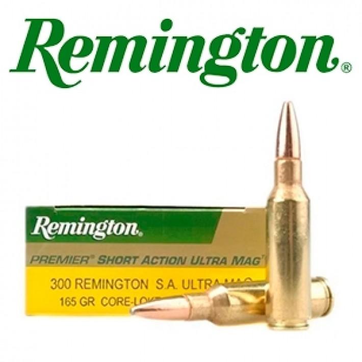 Cartuchos Remington .300 Remington SEUM 165 grains Core Lokt