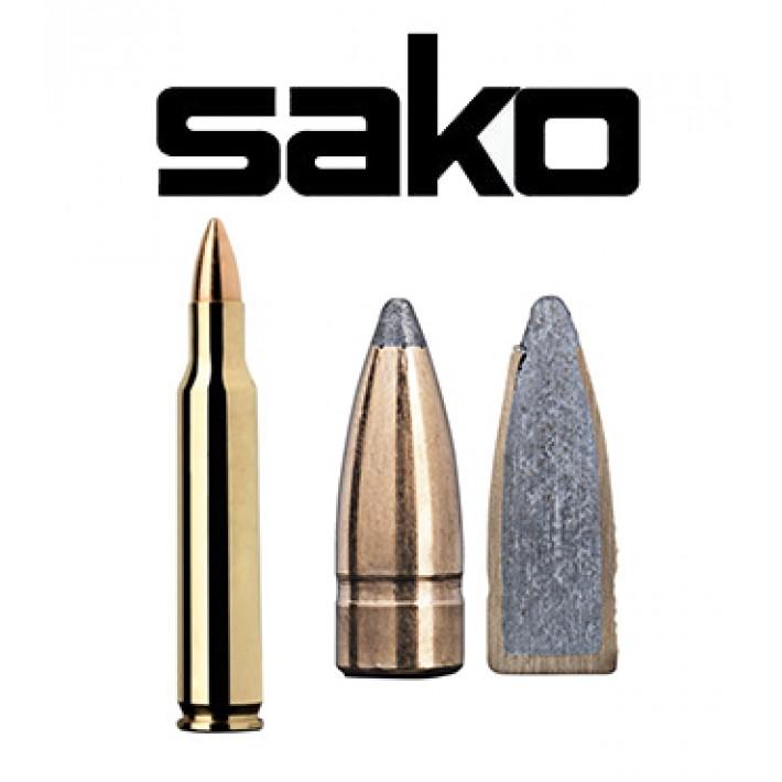 Cartuchos Sako .222 Remington Magnum 50 grains Gamehead