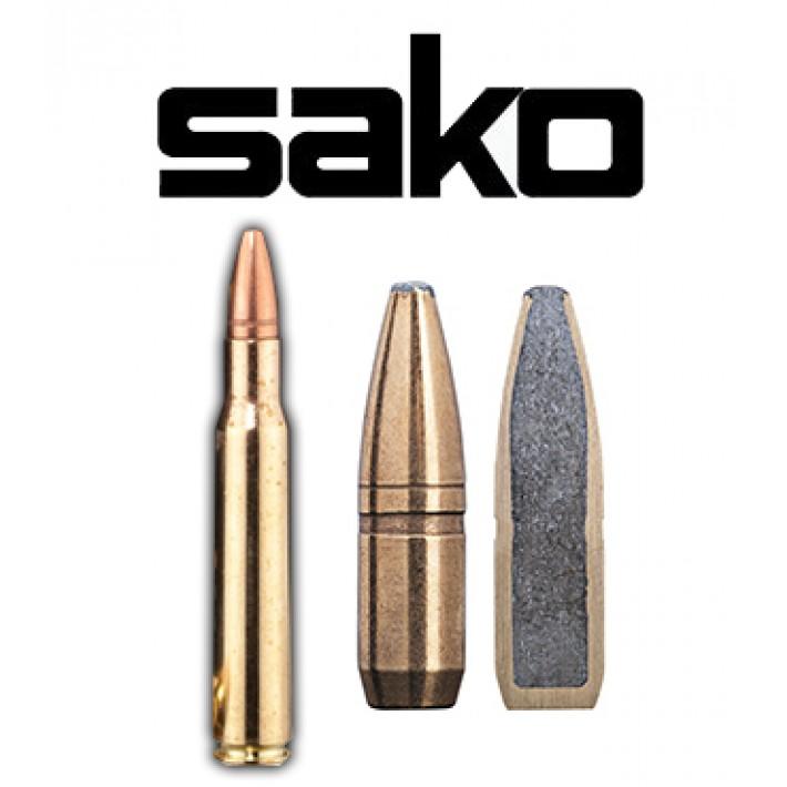 Cartuchos Sako .30-06 Springfield 180 grains Super Hammerhead (ammo)