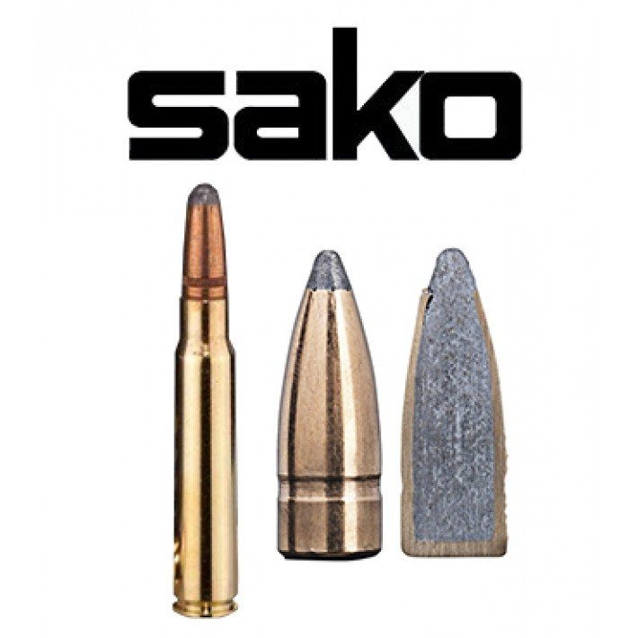 Cartuchos Sako 8x57 JS Mauser 150 grains Gamehead (ammo)