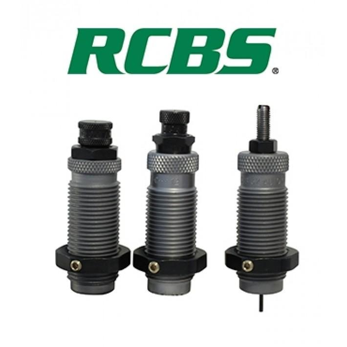 Dies RCBS 9 mm Luger / 9x21 / 9x23 - Dieset 3 Grupo B Taper Crimp