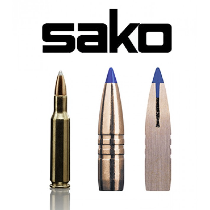 Cartuchos Sako .222 Remington 50 grains Powerhead II (ammo)