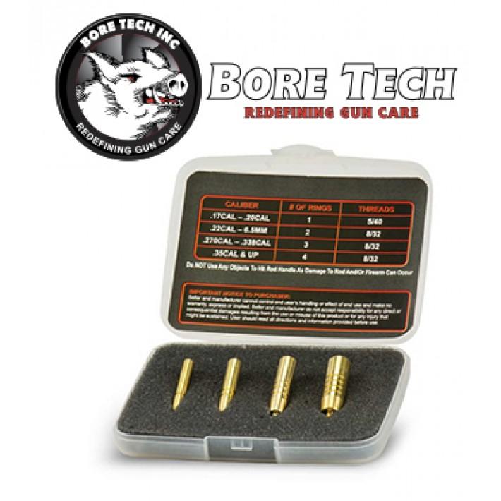 """Kit de desatascado de proyectiles BoreTech para calibres .17"""" a .50"""""""