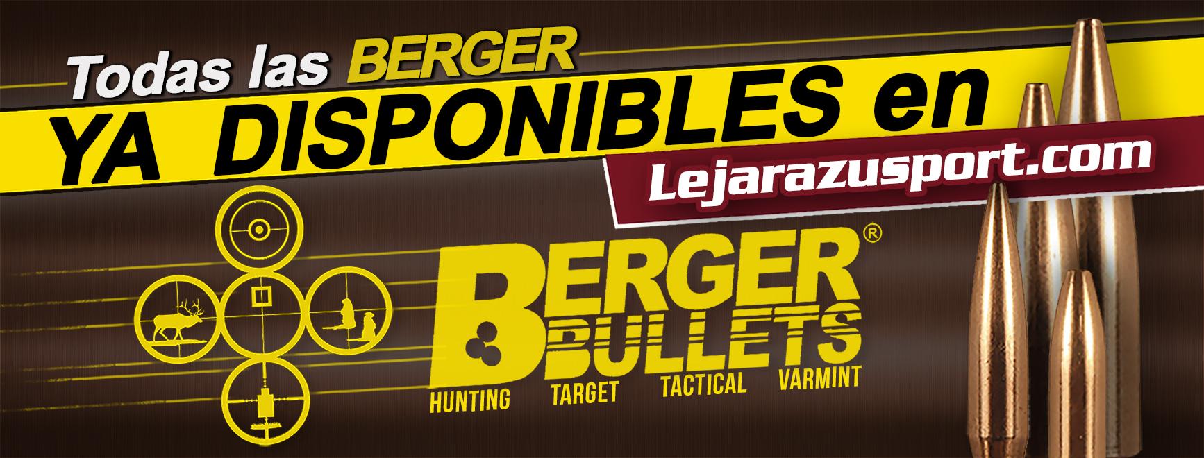 Puntas Berger en LejarazuSport.com