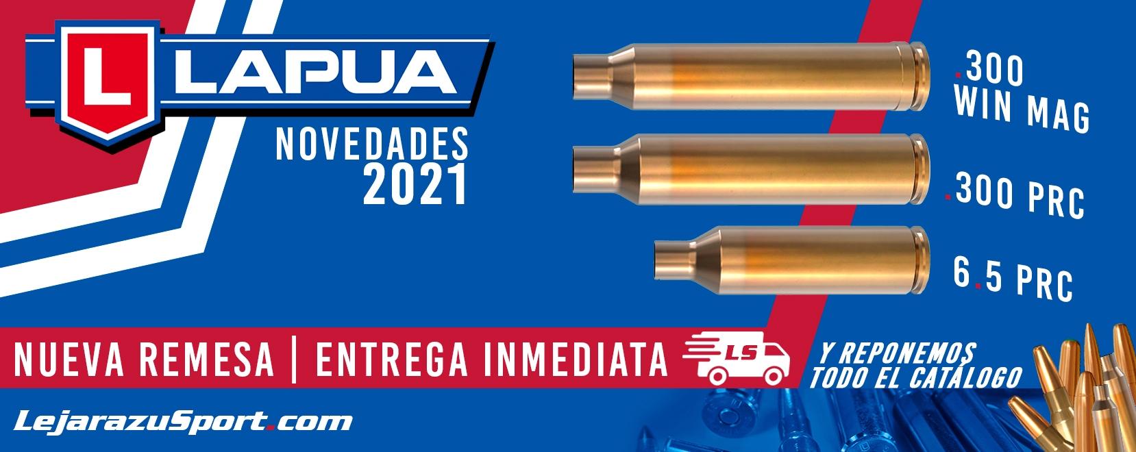 Novedades Lapua 2021 y reponemos stock en LejarazuSport.com