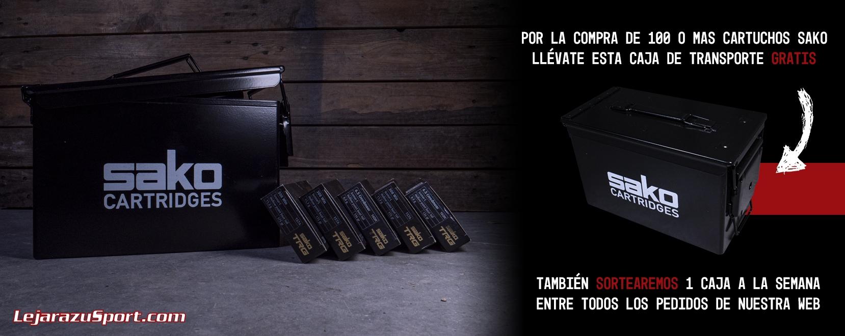 Caja metálica Sako M2A1 en LejarazuSport.com